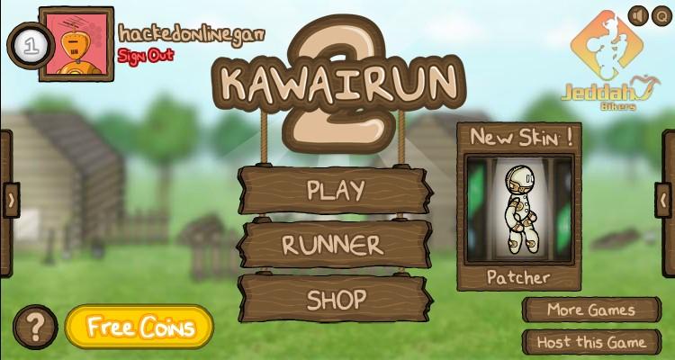 Play Online KawaiRun 2
